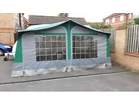 trio sport awning size 11 with crtains and ground sheet