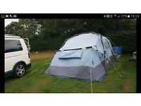 Khyam Drive Away Awning, XL ( means got a bed Room ) used but never let us down. VW T4 T5 T25