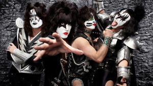 KISS Tickets Aug. 17 Fantastic Seats/Last Pair only Row 8