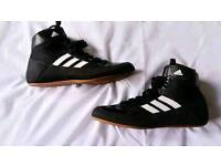 Boys Adidas Boxing boots. Size 12 1/2.