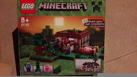 Lego Minecraft First Night set like new all complete