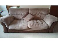 Large DFS 3 seater Sofa and armchair