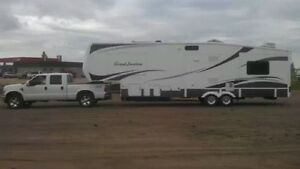 Grand junction fifth wheel model 34qre. 38 ft 10 inch overall