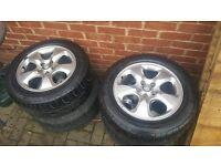 jaguar s-type 7.5x16 wheels and tyres