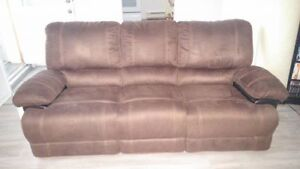 Sofa neuf 3 places inclinable