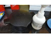 Pampered chef steam + chop