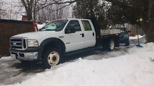 2006 Ford F-550 Flatbed 6.0 Turbo
