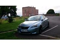 Lexus is220d, service history, 240 Hp + lowered and much more