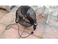 Honeywell HV-1800E 18 inch floor fan - excellent condition