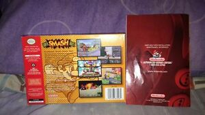 super smash brothers 64 BOX AND MANUAL ONLY Regina Regina Area image 2