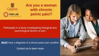 Seeking women diagnosed with a diagnosed chronic pelvic pain