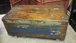 Repurposed Antique Toolbox