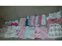 baby girls clothes bundle 0-3 months lots still with labels