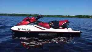 2003 Seadoo GTX 3 seater fourstroke 155 with trailer and cover