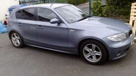 BMW SERIES1-PETROL- 54 PLATE GOOD CONDITION