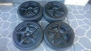 """Holden Commodore Ve 18x8 Procast wheels & tyres """"SWAPS ONLY"""" Coomera Gold Coast North Preview"""