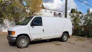 2005 Ford E-150 Commercial Cargo Van