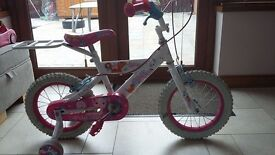 girls bike would suit age 2-5years