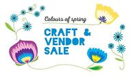 Spring Craft Sale in Perth Road Village