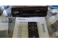 SONY DSX-A40UI CAR STEREO WITH REMOTE