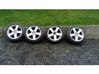 "18"" WHEELS 4 SALE 4 VW WOULD NEED 1 TYRE £100 NO OFFERS 07592334667"