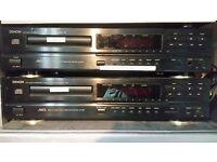 2 Denon DCD715 CD players