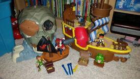 Jake & The Neverland Pirates Play set