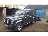 Land Rover Defender 110 2001 12 months MOT