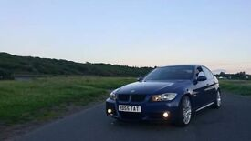 BMW 320d m sport 220bhp 2007 57 plate fsh full year mot and with super low mileage
