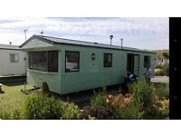 6 BERTH WILLERBY CARAVAN FOR SALE ON EXCELLENT FAMILY PARK WITH ALL THE FACILITIES YOU NEED N WALES