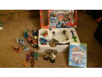 Xbox 360 skylanders trap team game, portal, traps and figures