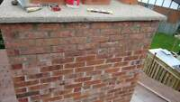 All your brick,  parging, and concrete needs