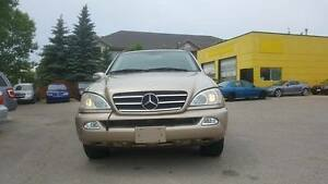 Saftied 2002 Mercedes-benz ML320 AWD