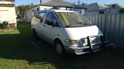 Toyota Tarago 2000 running but unregistered