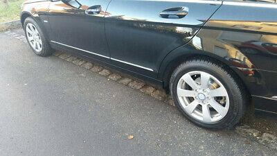 Original Mercedes C Klasse W204 Alufelgen Felgen 16 Zoll mit M+S Reifen