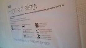 M&S m100 anti allergy single mattress (x2)