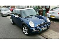 Mini cooper automatic 2002 low mileage reasonable offers accepted £1625