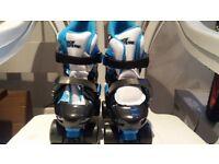Quad skates size- C10-13