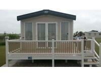 2013 Abi Alderly 8 berth caravan, situated in chapel st leonards skegness