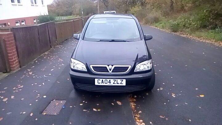 Vauxhall zafira 1.6 2004 long mot