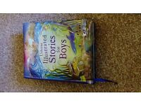 Usborne Illustrated Stories for Boys Book