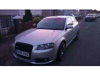 Audi A3 S-line for sale or swap