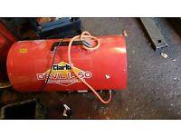 Propane heater clarke 1850 like new