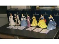 7 Rare Royal Doulton Large Disney Princess Figurines All Limited Editions CHEAP BARGAIN £500 LOT
