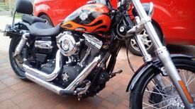 Harley Davidson Wide Glide 1450 2013 Low milage