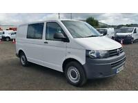 Volkswagen Transporter 2.0 Tdi 102Ps Kombi Van DIESEL MANUAL WHITE (2013)