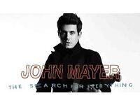 John Mayer Tickets |London | 12th May