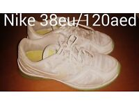 Nike white trainers