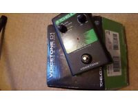"""TC Helicon Voicetone DI vocal """"doubling"""" pedal, excellent for live vocals"""