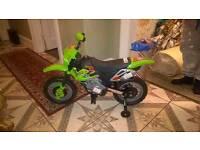 Kids Green Electric bike 6v